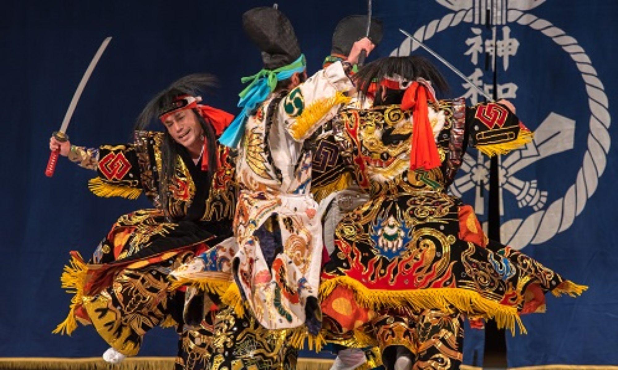 道川神楽 michikawa-kagura